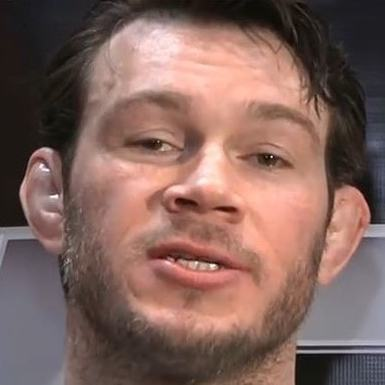 Forrest Griffin's underbite makes for a strong chin