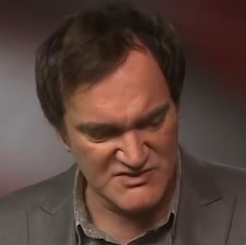 Writer and director Quentin Tarantino has small lips